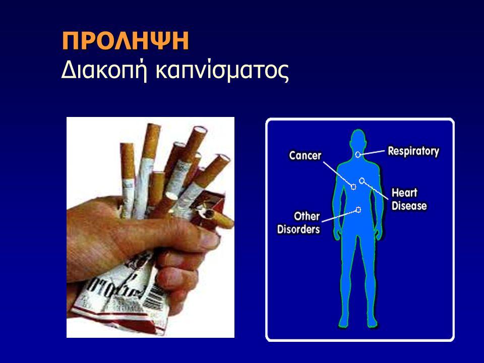 ΠΡΟΛΗΨΗ ΠΡΟΛΗΨΗ Διακοπή καπνίσματος