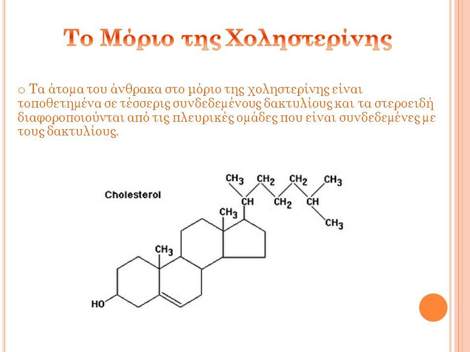 Είναι βασικό συστατικό των κυτταρικών μεμβρανών και είναι απαραίτητη για να ρυθμιστεί σωστά η διαπερατότητα της μεμβράνης.