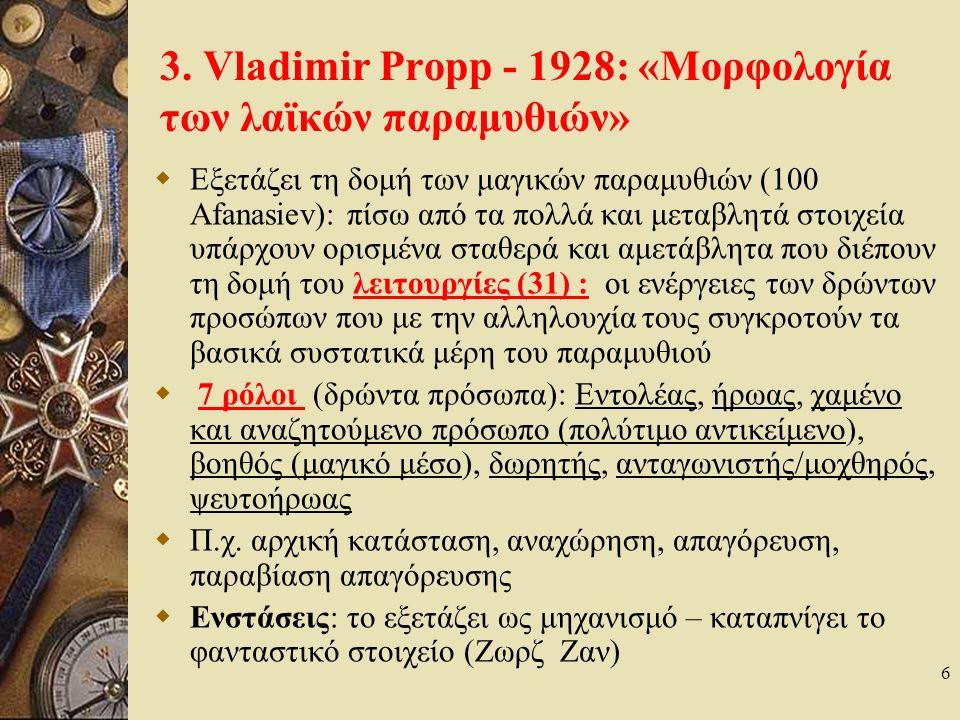 Ενδεικτική Βιβλιογραφία  Ε.Αυδίκος, Το Λαϊκό Παραμύθι.