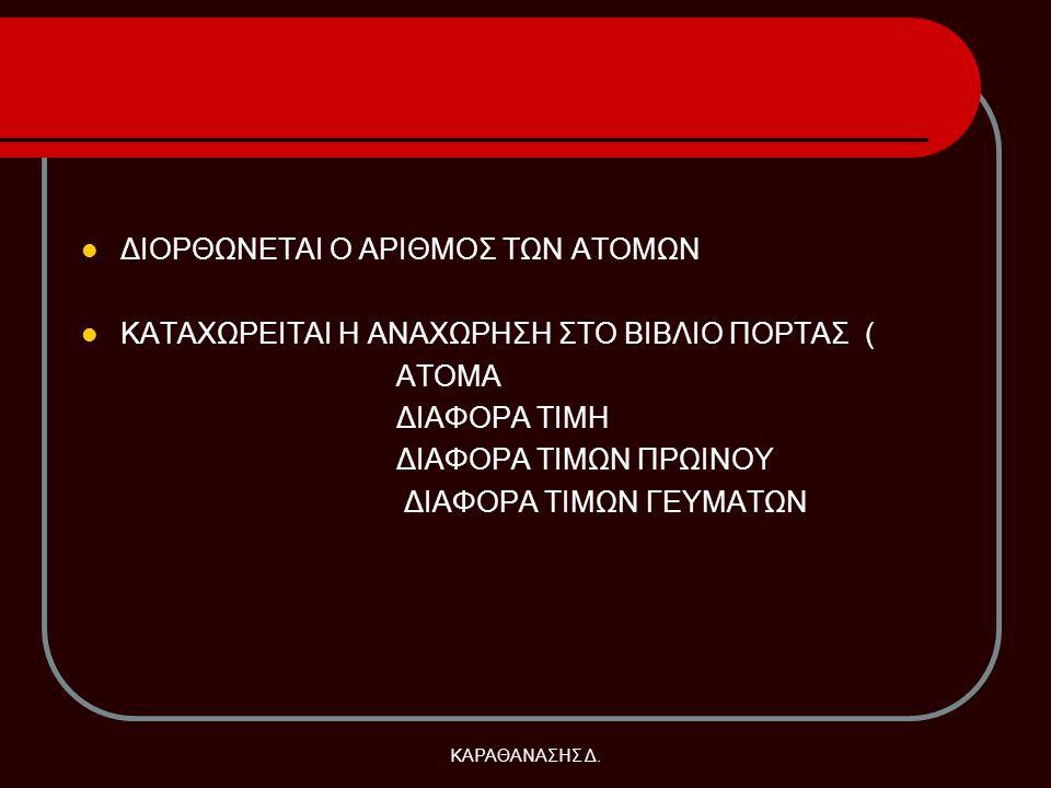 ΚΑΡΑΘΑΝΑΣΗΣ Δ.