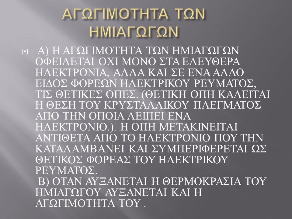  ΛΕΠΤΑ ΣΤΡΩΜΑΤΑ ΗΜΙΑΓΩΓΩΝ ΥΛΙΚΩΝ ΣΥΣΚΕΥΑΣΜΕΝΑ ΜΑΖΙ ΣΥΝΘΕΤΟΥΝ ΔΙΑΦΟΡΟΥΣ ΤΥΠΟΥΣ ΤΡΑΝΖΙΣΤΟΡ ΠΟΥ ΧΡΗΣΙΜΟΠΟΙΟΥΝΤΑΙ ΣΕ ΠΟΛΛΕΣ ΕΦΑΡΜΟΓΕΣ ΠΟΥ ΑΦΟΡΟΥΝ, ΜΕΤΑΞΥ ΑΛΛΩΝ, ΤΟΥΣ ΗΛΕΚΤΡΟΝΙΚΟΥΣ ΥΠΟΛΟΓΙΣΤΕΣ.