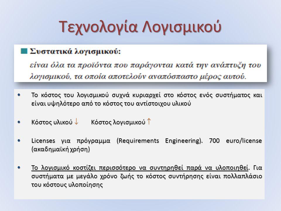ΑΑΥ Βασικοί παράμετροι ευχρηστίας: Βασικοί παράμετροι ευχρηστίας: i.Ευκολία εκμάθησης ii.Υψηλή απόδοση εκτέλεσης έργου iii.Χαμηλή συχνότητα σφαλμάτων χρήστη iv.Ευκολία συγκράτησης της γνώσης της χρήσης του συστήματος v.Υποκειμενική ικανοποίηση του χρήστη
