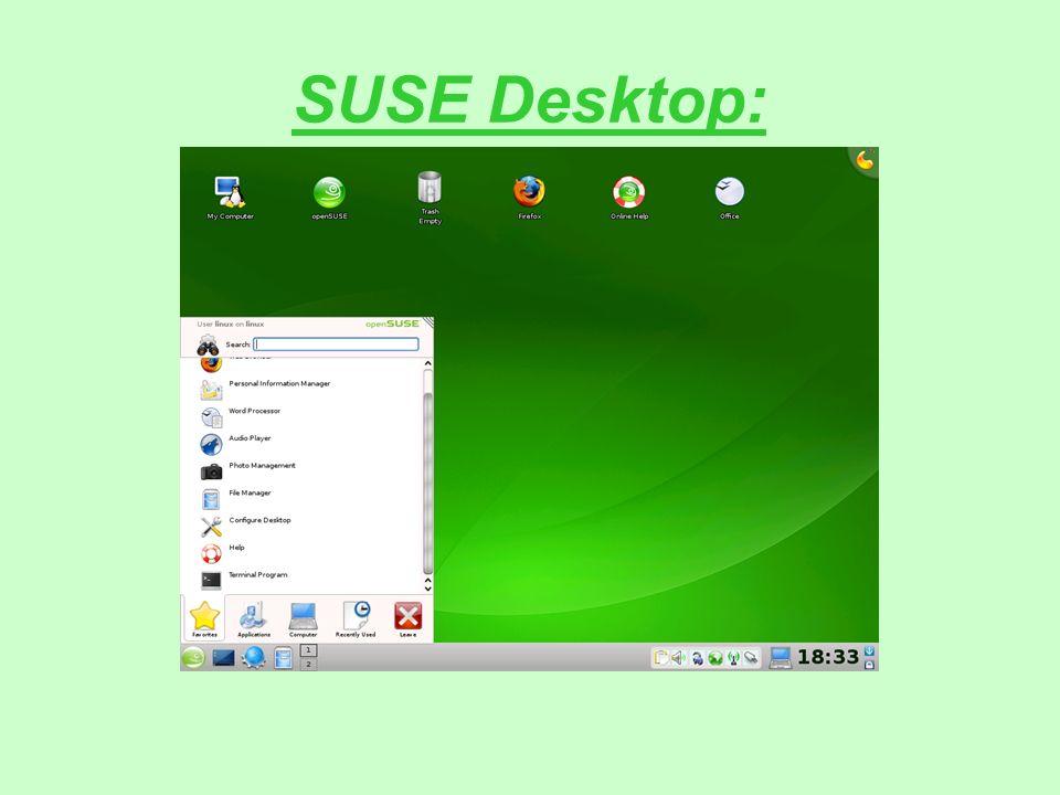 SUSE Desktop: