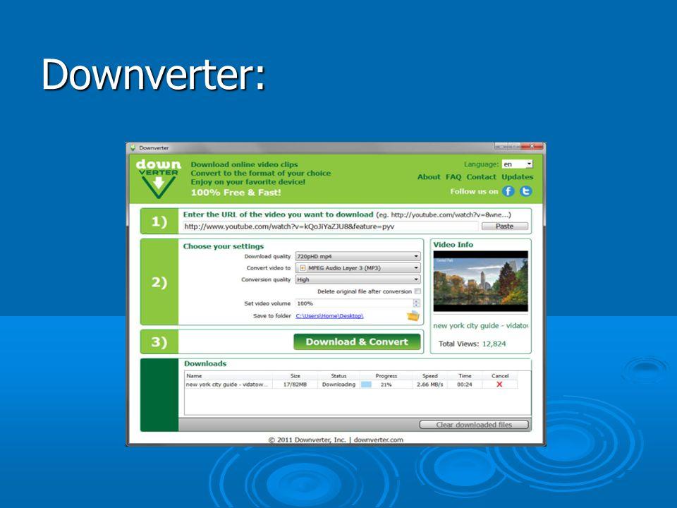 Downverter: