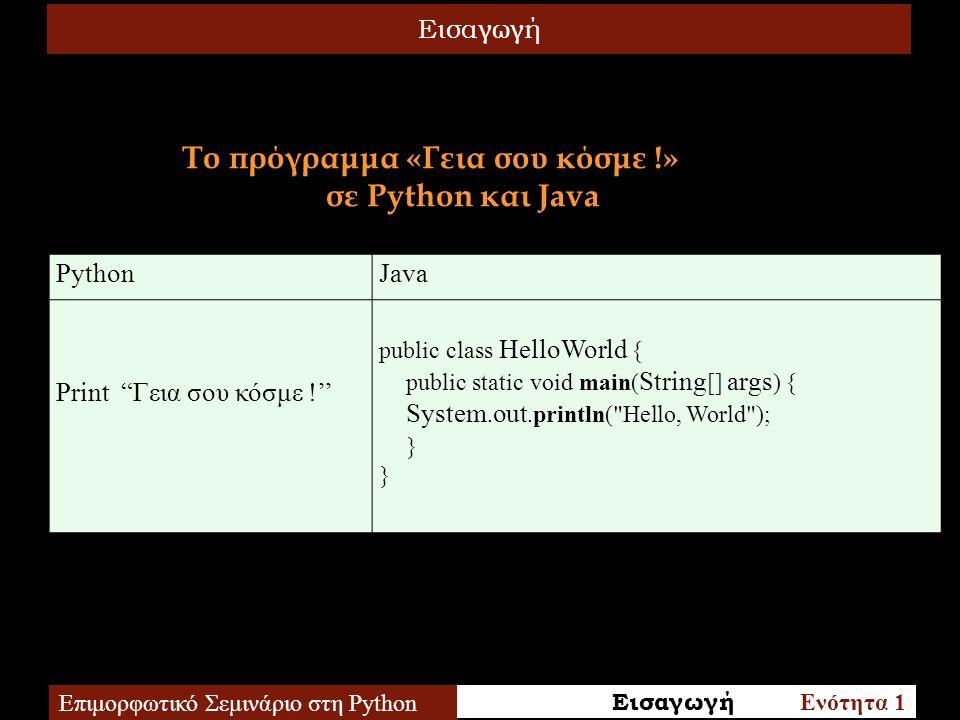 Μέθοδοι Λιστών Επιμορφωτικό Σεμινάριο στη Python 1.