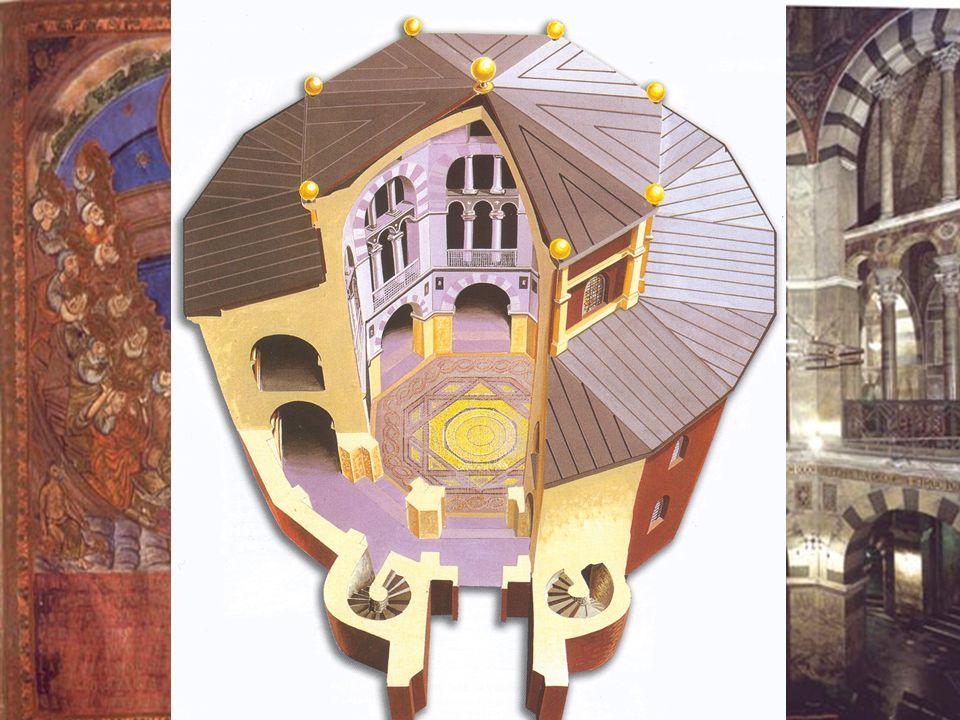 ΚΑΡΟΛΙΔΕΣ Καρολίδεια Αναγέννηση Ο Καρλομάγνος :  Φροντίζει την παιδεία κληρικών για να υπηρετήσουν την αυτοκρατορία  Ιδρύει την Παλατινή Σχολή του Α