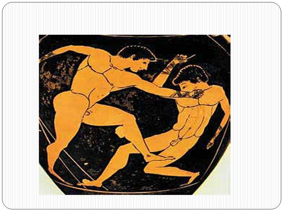 Παγκράτιο Το δυσκολότερο άθλημα στους Ολυμπιακούς αγώνες ήταν αναμφισβήτητα το παγκράτιο.