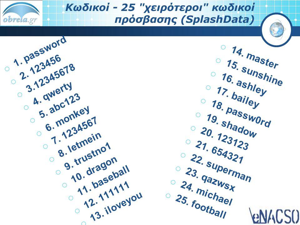 Κωδικοί - 25
