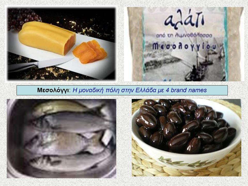 Μεσολόγγι: Η μοναδική πόλη στην Ελλάδα με 4 brand names