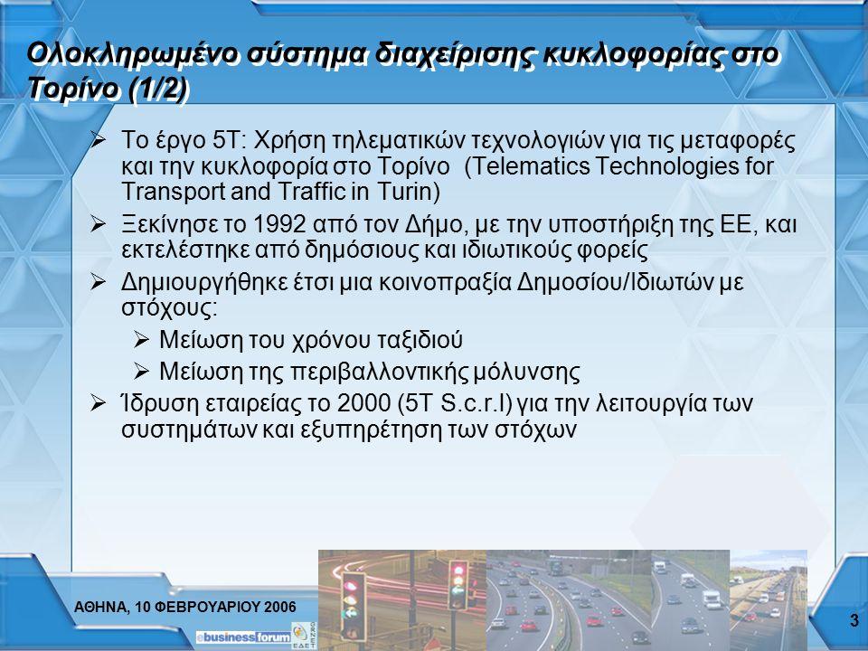 ΑΘΗΝΑ, 10 ΦΕΒΡΟΥΑΡΙΟΥ 2006 2 Συμπεράσματα από διεθνή εμπειρία  Ώριμη τεχνολογία και δοκιμασμένα συστήματα  «Κρίσιμη μάζα» αγοράς: πίεση από αυτοκινη