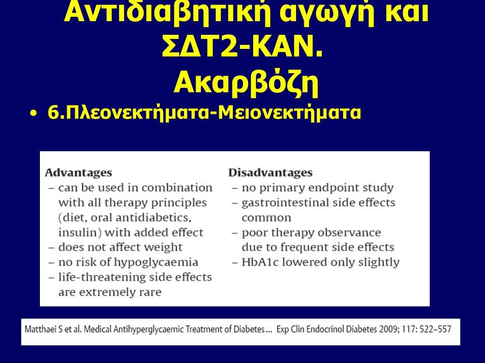 Είναι αποτελεσματική στη συνδυασμένη αγωγή με τα άλλα δισκία και την ινσουλίνη Είναι ασφαλές φάρμακο Δεν αυξάνει το σωματικό βάρος και τον κίνδυνο υπο