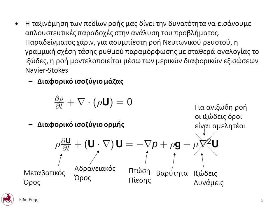 Ολοκληρωτική μελέτη πεδίου Ροής: Ανάλυση ολοκληρωτικών εξισώσεων διατήρησης χρησιμοποιώντας μέσες ή προσεγγιστικές τιμές των μεταβλητών.