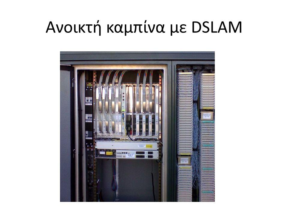 Ανοικτή καμπίνα με DSLAM