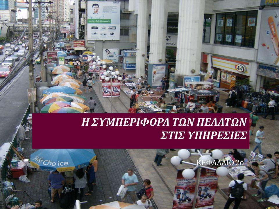ΔΟΜΗ ΠΑΡΟΥΣΙΑΣΗΣ  Πελάτης – Τί πρέπει να ξέρουμε  Περί αποφάσεων  Η Αγοραστική Διαδικασία στις Υπηρεσίες : Το Υπόδειγμα των Τριών Σταδίων  1o Στάδιο : Πριν από την Αγορά  2 ο Στάδιο : Αγορά - Κατανάλωση  3 ο Στάδιο : Μετά την Αγορά  Βαθμός ικανοποίησης & προσδοκίες