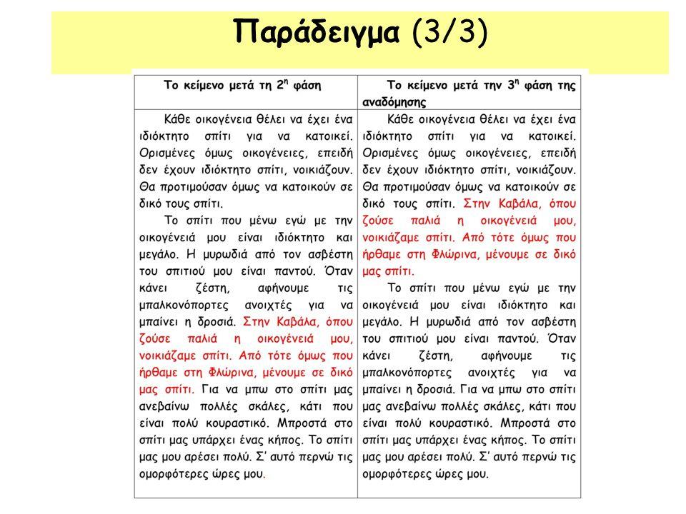 Παράδειγμα (3/3)