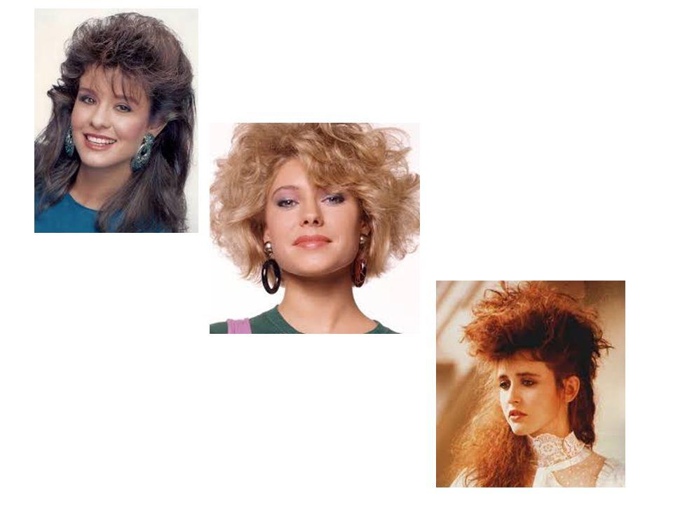 Το στυλ μαλλιών της δεκαετίας του 80 Eίναι το πιο ποικιλόμορφο και χιουμοριστικό χαρακτηριστικό αυτής της δεκαετίας.