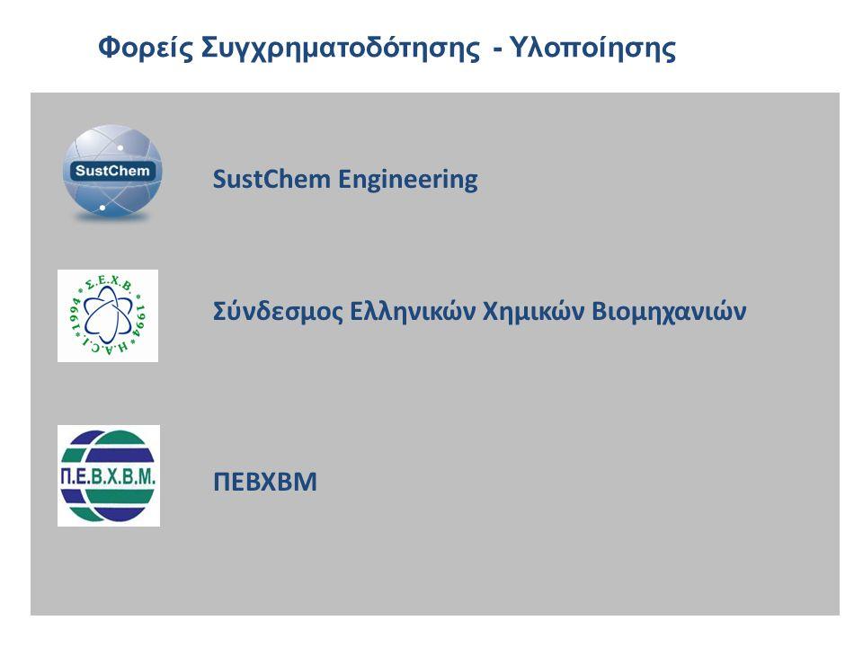  Ανάπτυξη βάσης δεδομένων (READ Database)  Συμμετοχή παραγωγών / εισαγωγέων με ΔΔΑ  Χημικά για επαγγελματίες χρήστες (δομικά υλικά, χρώματα, βερνίκια, μελάνια, καθαριστικά)  Κάρτες Οδηγιών στο Χώρο Εργασίας (WICs)