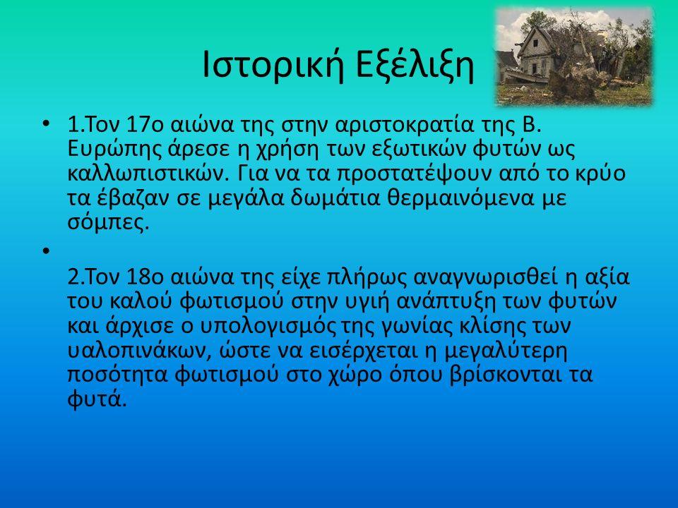 Ιστορική Εξέλιξη 1.Τον 17ο αιώνα της στην αριστοκρατία της Β.