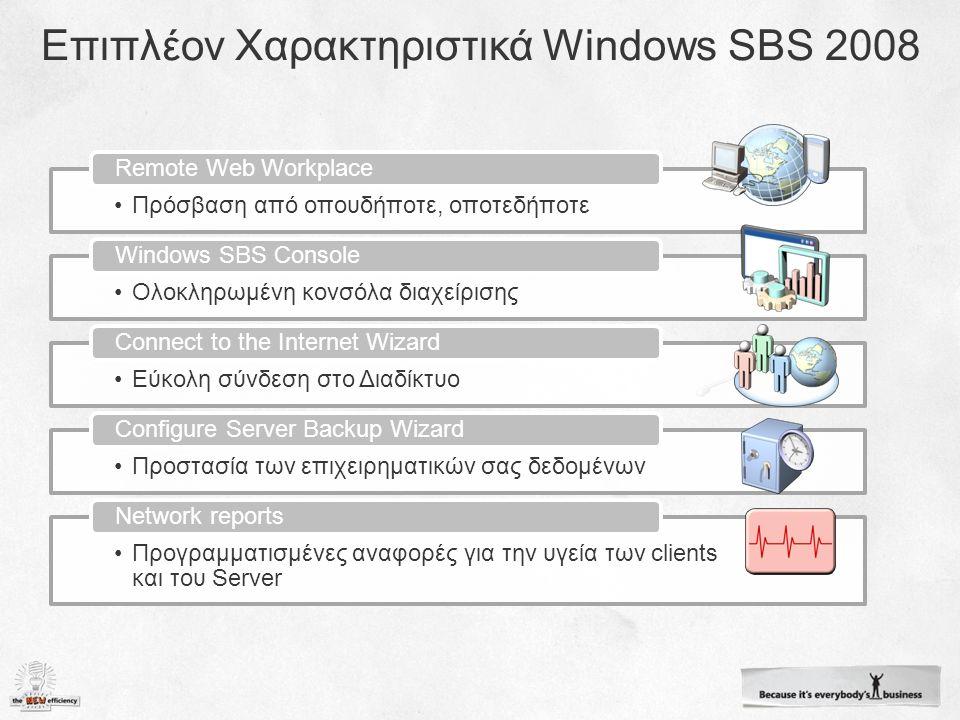 Έχουν απομακρυσμένοι πρόσβαση σε: E-mail Ημερολόγιο Intranet portal (Companyweb) Υπολογιστές της εταιρείας Single Sign-On Self-service αλλαγή password Απλοί Χρήστες: Ίδια πρόσβαση με τους απλούς χρήστες Σύνδεση στον Server Πρόσβαση σε εργαλεία διαχείρισης Διαχειριστές
