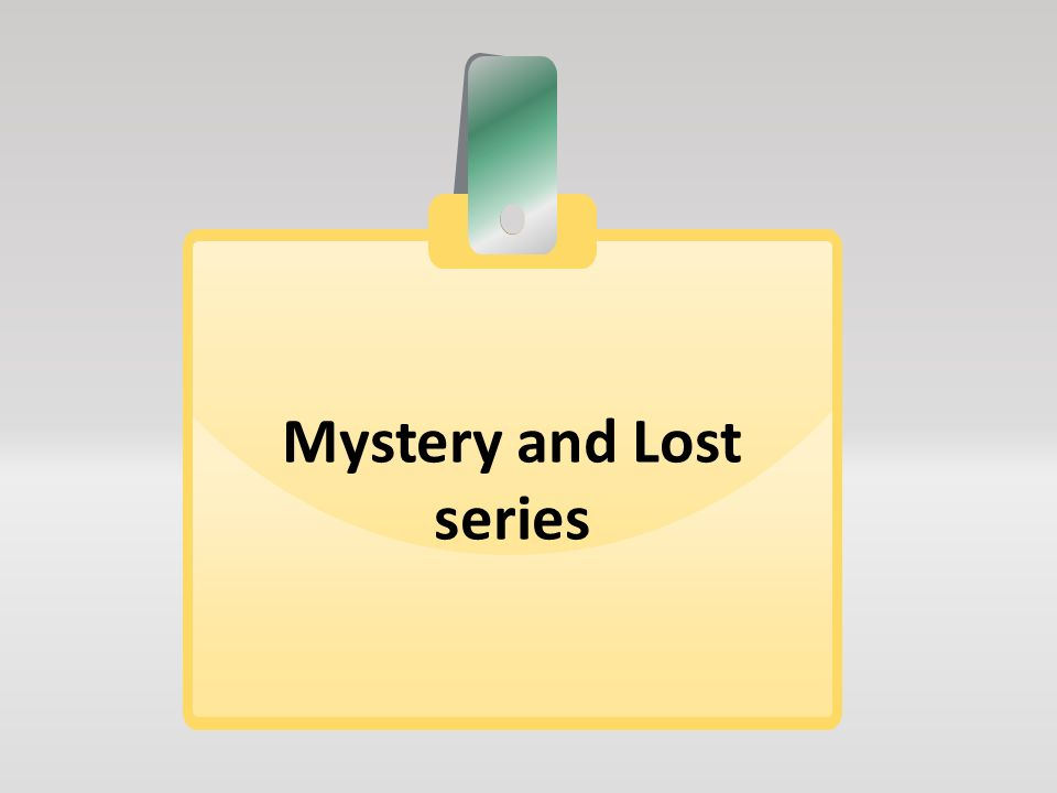 Εφαρμογές διερευνητικού χαρακτήρα Αυτόνομα μαθησιακά αντικείμενα που συνήθως περιλαμβάνουν ένα μυστήριο ή κάποιου είδους αναζήτηση Στηρίζονται στο βιβλίο (πχ.
