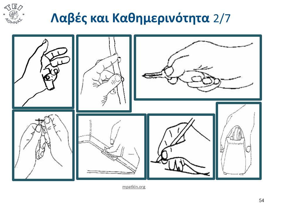 Λαβές και Καθημερινότητα 2/7 54 mpatkin.org