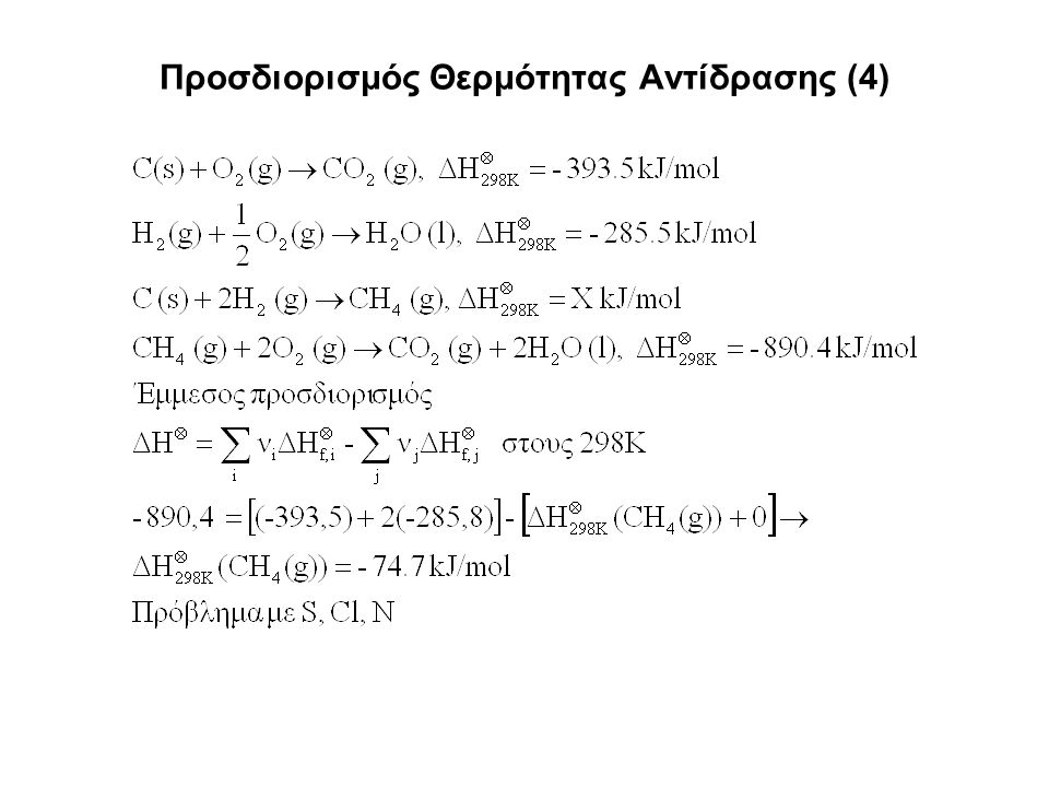 Προσδιορισμός Θερμότητας Αντίδρασης (4)