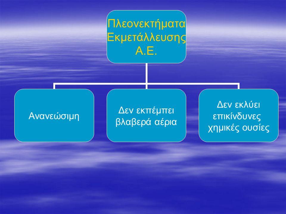 Αιολική ενέργεια ονομάζεται η ενέργεια που παράγεται από την εκμετάλλευση του πνέοντος ανέμου. Αιολική ενέργεια ονομάζεται η ενέργεια που παράγεται απ