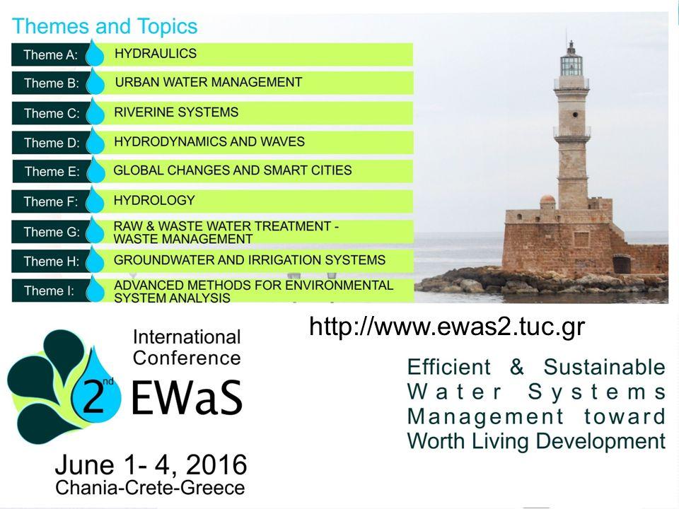 Αναπληρωτής Καθηγητής Βασίλης Κανακούδης Τμήμα Πολιτικών Μηχανικών – Πανεπιστήμιο Θεσσαλίας Διήμερη Συνάντηση, Λάρισα 7-8/4/2016 http://www.ewas2.tuc.gr