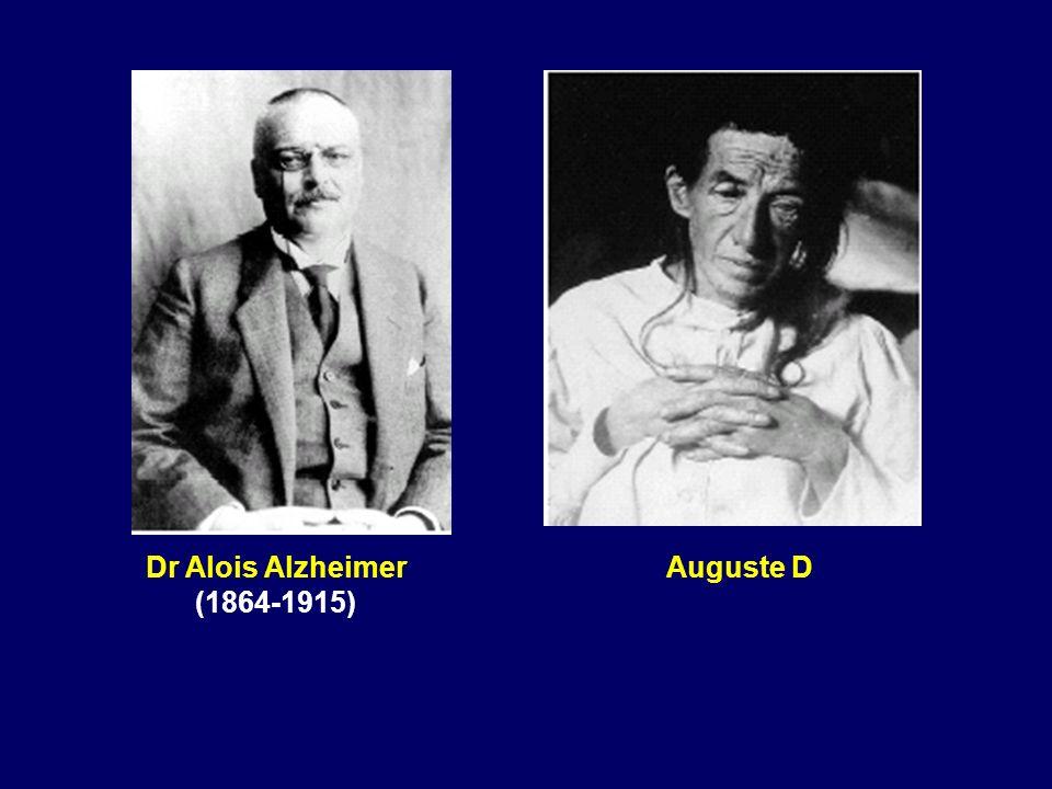 Dr Alois Alzheimer (1864-1915) Auguste D