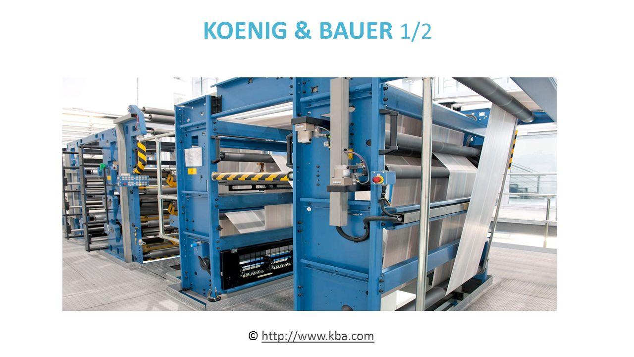 KOENIG & BAUER 1/2 © http://www.kba.comhttp://www.kba.com