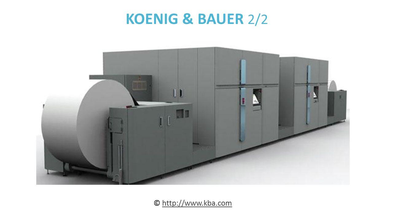 KOENIG & BAUER 2/2 © http://www.kba.comhttp://www.kba.com