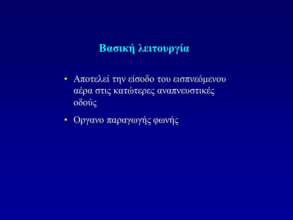 ΛΑΡΥΓΓΙΤΙΔΑ Φλεγμονή του λαρυγγικού βλεννογόνου και/ή του λαρυγγικού σκελετού