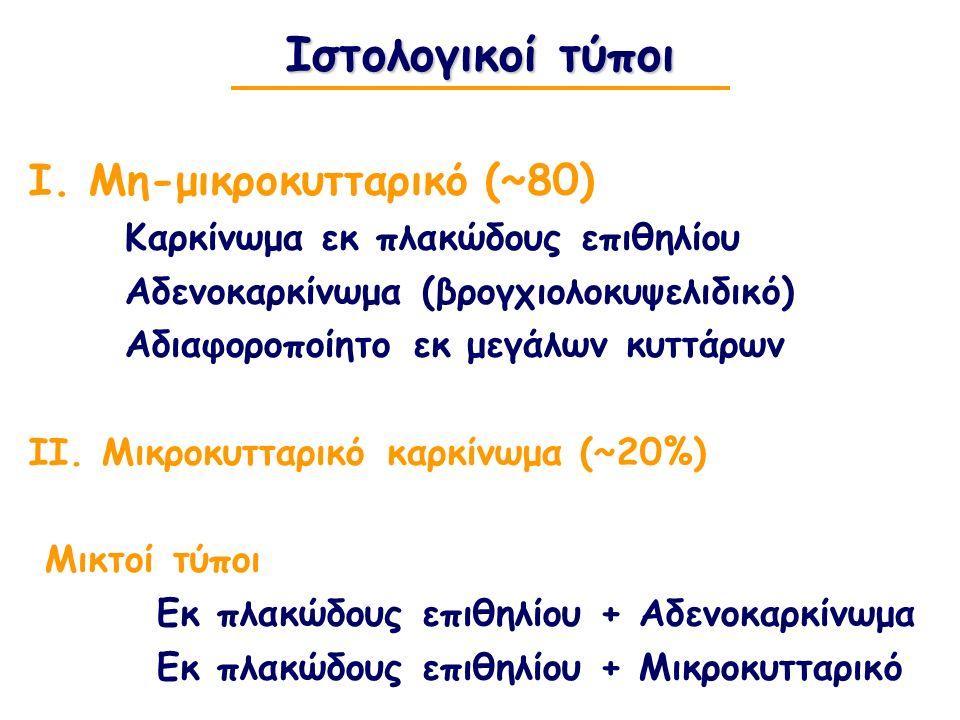 Ιστολογικοί τύποι Ι.