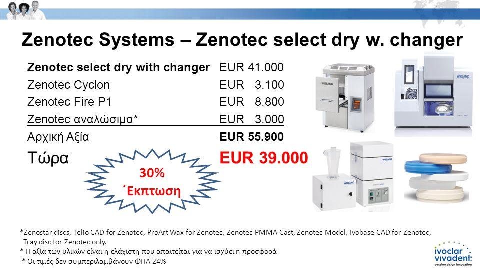 Zenotec Systems – Zenotec select dry w.