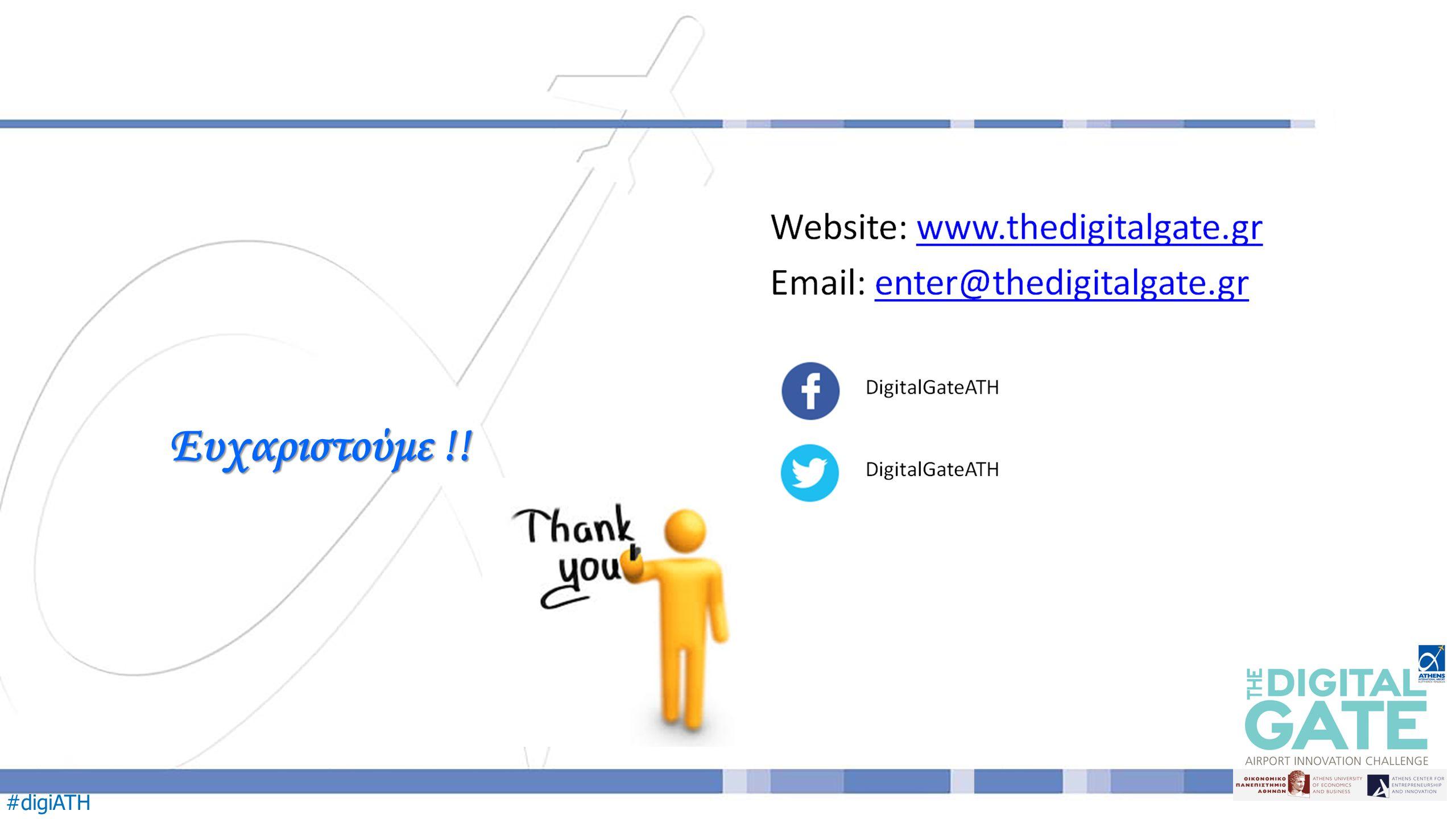 #digiATH Ευχαριστούμε !!