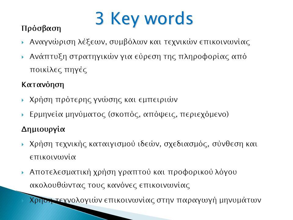 Πέντε βασικές έννοιες: 1.Όλα τα μιντιακά μηνύματα είναι κατασκευασμένα.