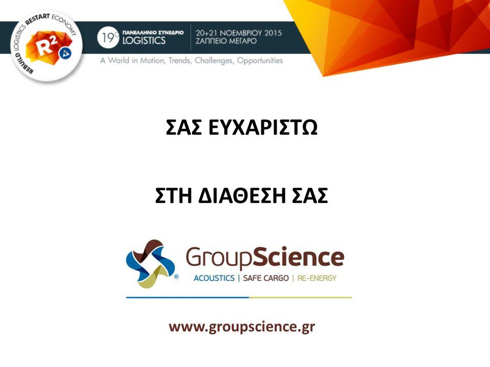 ΣΑΣ ΕΥΧΑΡΙΣΤΩ ΣΤΗ ΔΙΑΘΕΣΗ ΣΑΣ …. www.groupscience.gr