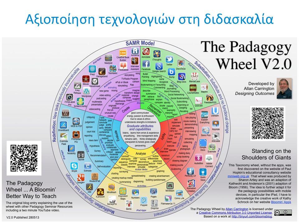 Αξιοποίηση τεχνολογιών στη διδασκαλία
