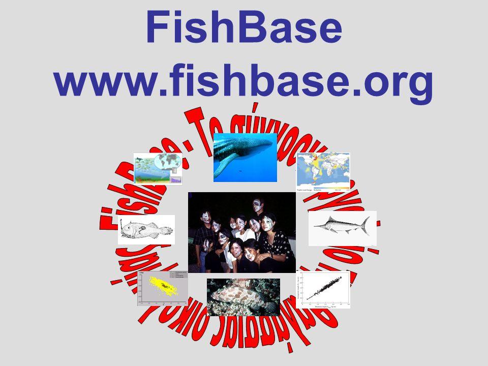FishBase www.fishbase.org