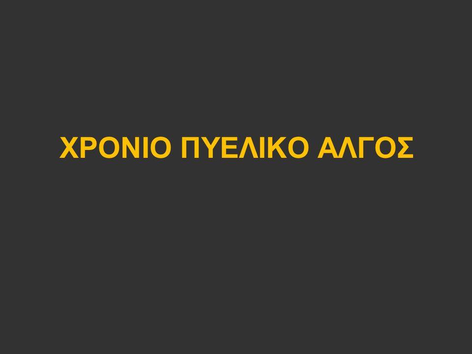 ΧΡΟΝΙΟ ΠΥΕΛΙΚΟ ΑΛΓΟΣ