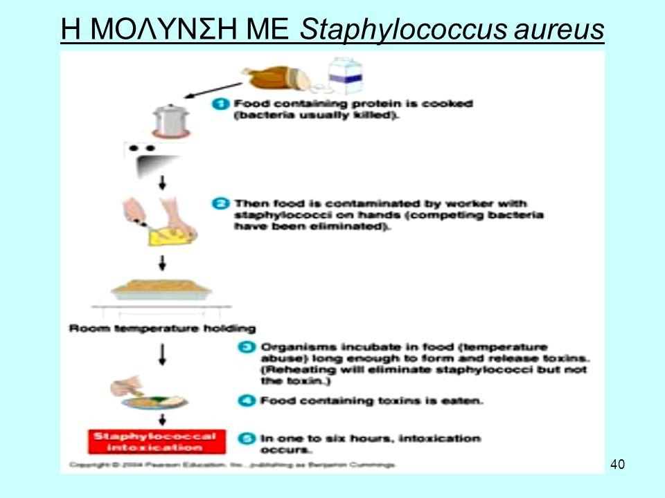 40 Η ΜΟΛΥΝΣΗ ΜΕ Staphylococcus aureus