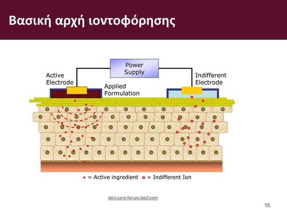 Βασική αρχή ιοντοφόρησης 15 skin-care-forum.basf.com