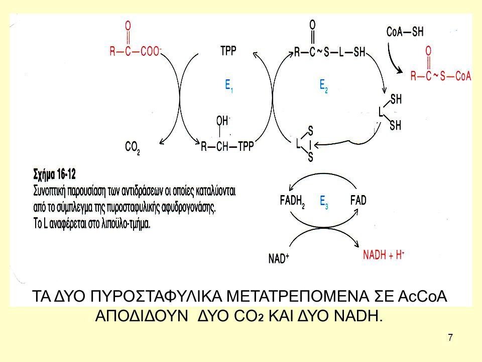48 Αντιοξειδωτικές λειτουργίες Η υπεροξειδάση της γλουταθειόνης, ένα ένζυμο που περιέχει σελήνιο απαιτεί δύο μόρια αναγμένης Γλουταθειόνης για να διασπάσει υδροϋπεροξείδια.