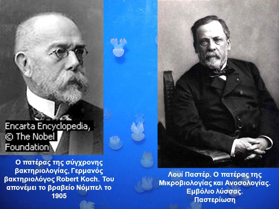 Ο πατέρας της σύγχρονης βακτηριολογίας, Γερμανός βακτηριολόγος Robert Koch.