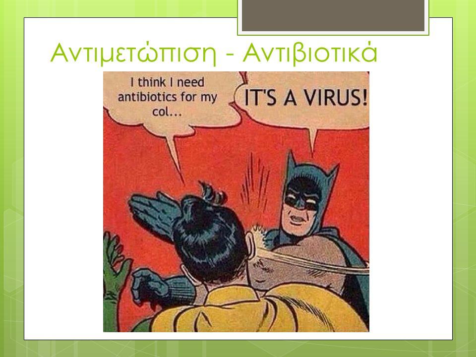 Αντιμετώπιση - Αντιβιοτικά