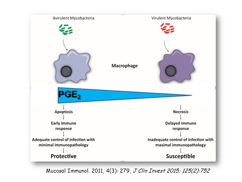 Mucosal Immunol. 2011, 4(3): 279, J Clin Invest 2015; 125(2):752