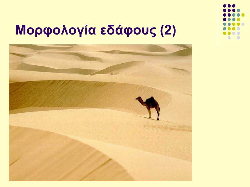 Μορφολογία εδάφους (2)