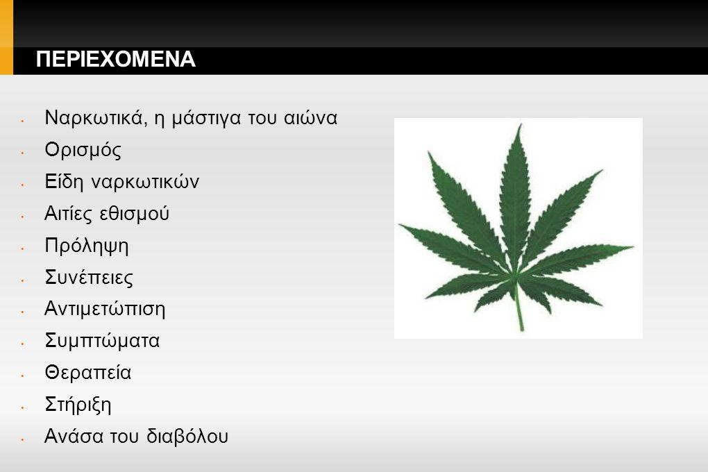 Ναρκωτικά- Η μάστιγα του αιώνα.