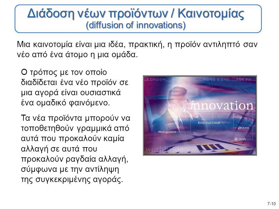 Μια καινοτομία είναι μια ιδέα, πρακτική, η προϊόν αντιληπτό σαν νέο από ένα άτομο η μια ομάδα.