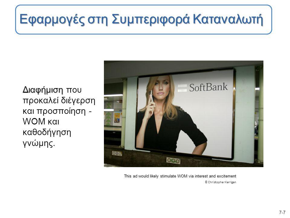 Διαφήμιση Διαφήμιση που προκαλεί διέγερση και προσποίηση - WOM και καθοδήγηση γνώμης.